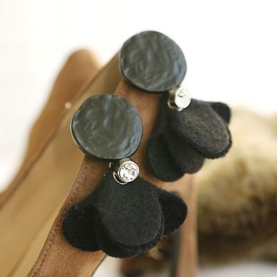 dint-圆形时尚魅力流行耳环