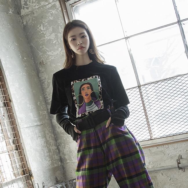 1区韩国本土服装代购(韩国圆通直发)dint-T恤(2018-12-15上架)