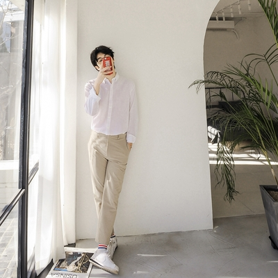 dj2-简单韩版魅力时尚休闲衬衫