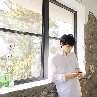 dj2-简单韩版魅力时尚休闲个性衬衫