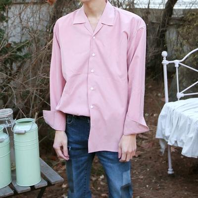 dj2-韩版休闲魅力纯色衬衫