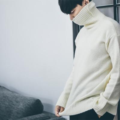 1区韩国本土服装代购(韩国圆通直发)dj2-时尚魅力高领针织衫(本商品非新品请联系客服核对再下单-14上架)