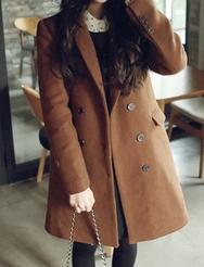 1区韩国代购正品验证jellpe-EPCT00831040-大方魅力韩版纯色大衣