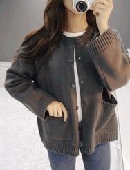 1区韩装网2016韩国服装货源|女装一件代发jellpe官网韩国时尚宽松短款针织衫(2016.9)