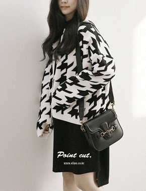 jellpe-气质魅力韩版休闲个性开襟衫