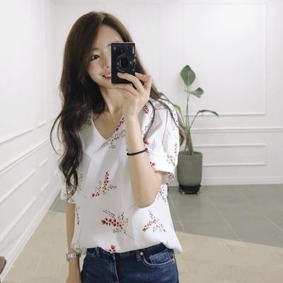 jellpe-韩版魅力时尚优雅衬衫