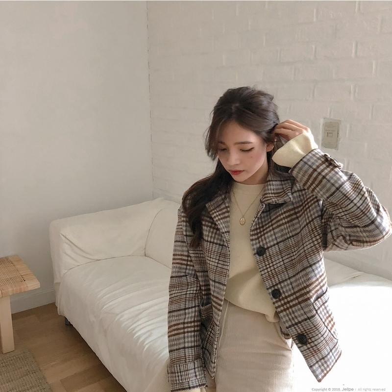 1区韩国本土服装代购(韩国圆通直发)jellpe-夹克(2018-11-16上架)