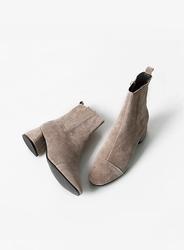 2018新款韩国服装jellpe品牌时尚纯色休闲短靴(2018.1月)