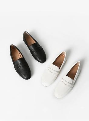jellpe-休闲百搭纯色平底鞋