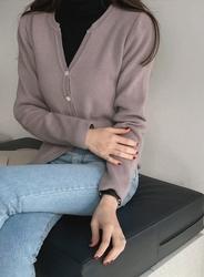 2018新款韩国服装jellpe品牌休闲舒适纯色单排扣开襟衫(2018.1月)