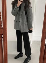 2018新款韩国服装jellpe品牌休闲舒适纯色夹克(2018.1月)