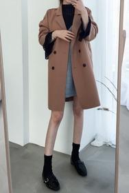 2018新款韩国服装22xx品牌时尚气质百搭舒适大衣(2018.1月)