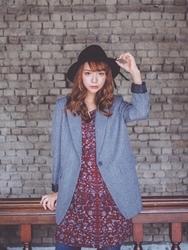 1区韩国代购正品验证goroke-GRJK00755898-简约舒适魅力西装夹克