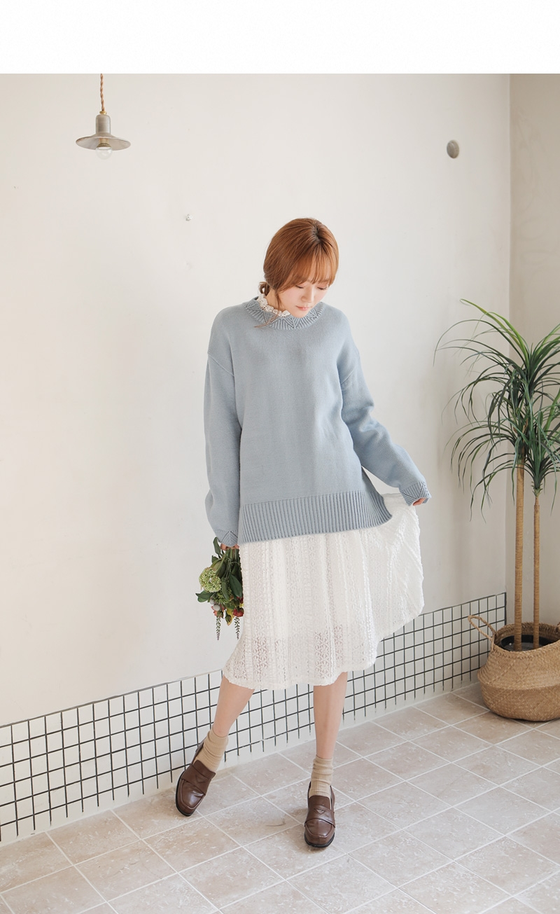 goroke-韩国可爱搭配魅力新款韩国代购毛衣针织衫女装