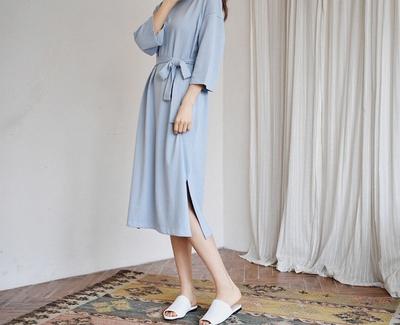 goroke-百搭魅力纯色连衣裙