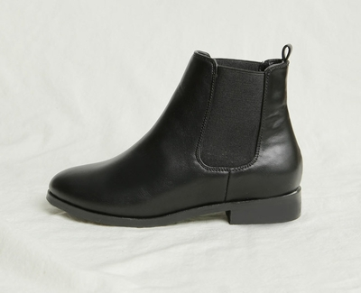 goroke-高档魅力纯色靴子