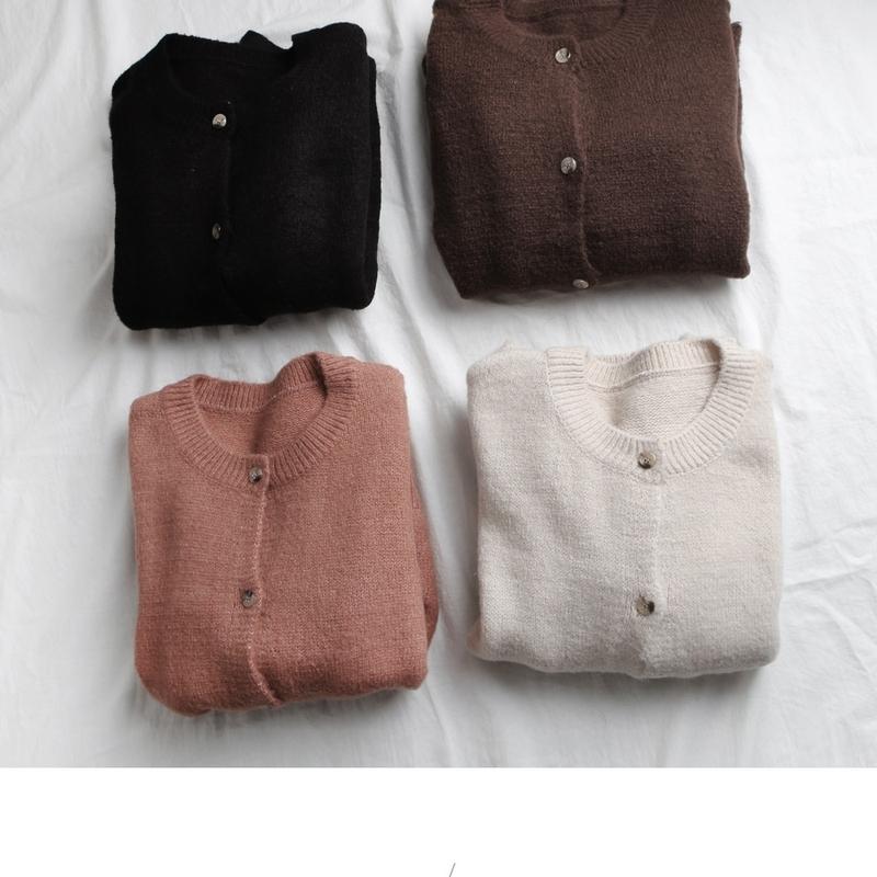 1区韩国本土服装代购(韩国圆通直发)goroke-开襟衫(2018-12-13上架)