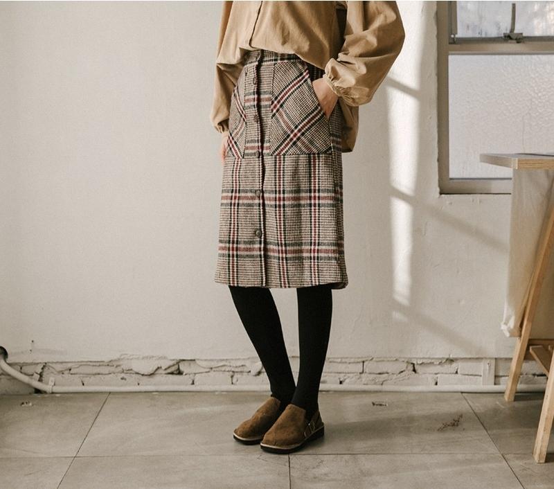 1区韩国本土服装代购(韩国圆通直发)goroke-中裙(2019-01-08上架)