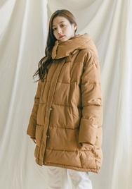 2018新款韩国服装goroke品牌魅力十足纯色棉服(2018.1月)