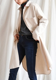 2018新款韩国服装goroke品牌休闲舒适纯色衬衫连衣裙(2018.1月)