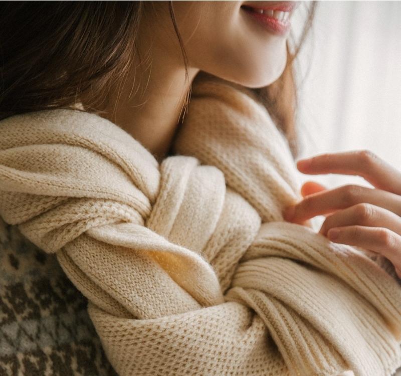 1区韩国本土服装代购(韩国圆通直发)goroke-围巾(本商品是非新品断货机会比较大,请联系客服核对再下单哦-14上架)