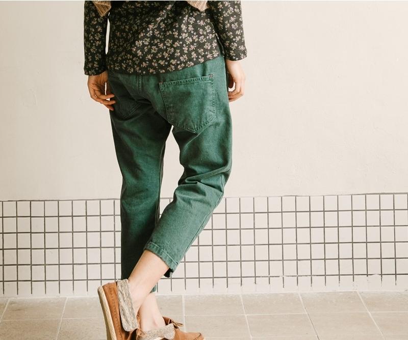 1区韩国本土服装代购(韩国圆通直发)goroke-长裤(本商品是非新品断货机会比较大,请联系客服核对再下单哦-12上架)