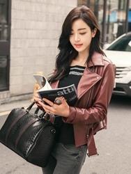 1区韩国代购正品验证heizle-HZJK00755806-时尚高档流行魅力百搭夹克