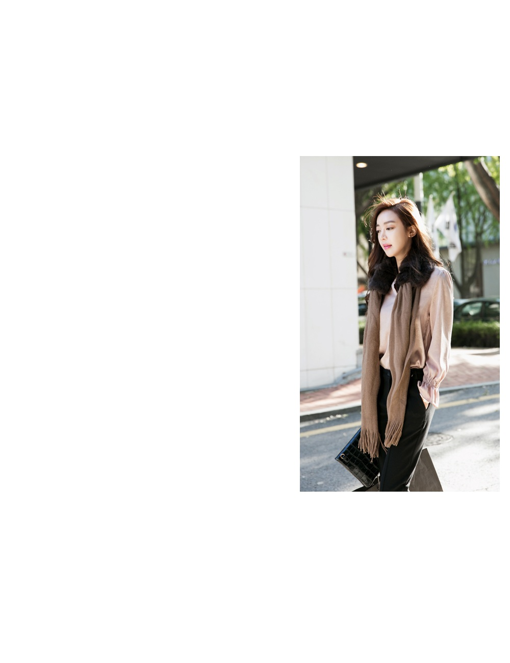 1区韩国代购正品验证heizle-hzbl00790785-韩版淑女魅力简单舒适衬衫