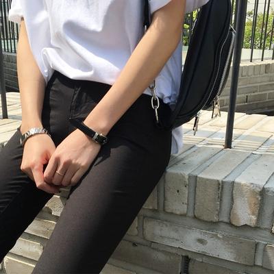 1区韩国本土服装代购(韩国圆通直发)hellopeco-韩版时尚淑女长裤(2018-04-24上架)