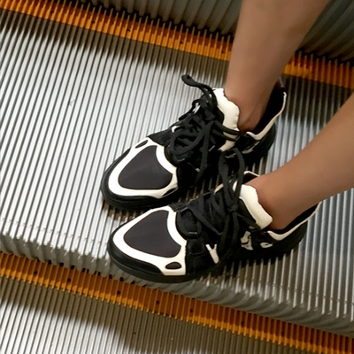 1区韩国本土服装代购(韩国圆通直发)hellopeco-韩版时尚配色运动鞋(2018-06-11上架)