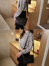 2018新款韩国服装hellopeco品牌时尚风格魅力单肩包(2018.1月)