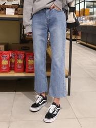 2018新款韩国服装hellopeco品牌时尚帅气舒适牛仔裤(2018.1月)