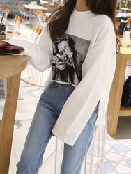2018新款韩国服装hellopeco品牌时尚独特图案T恤(2018.1月)