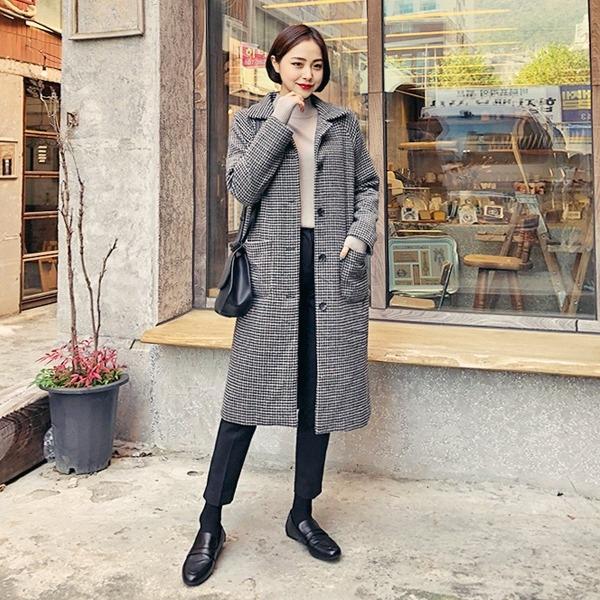 1区韩国本土服装代购(韩国圆通直发)hotping-大衣(2018-11-13上架)