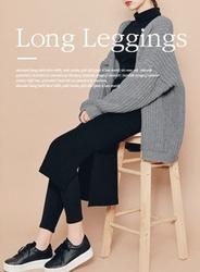 2018新款韩国服装hotping品牌韩版边开衩休闲裙裤(2018.1月)
