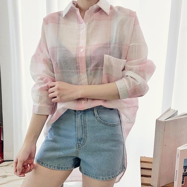 1区韩国本土服装代购(韩国圆通直发)hotping-衬衫(2019-05-14上架)