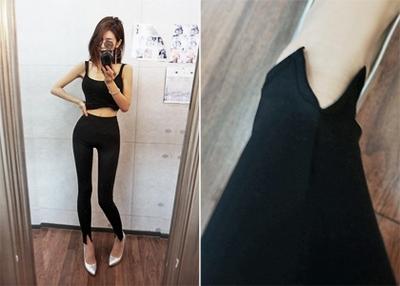 1区韩国本土服装代购(韩国圆通直发)iampretty-打底裤(2018-07-14上架)