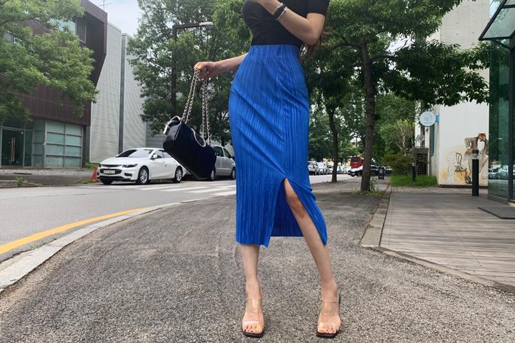 1區100%正宗韓國官網代購(韓國直發包國際運費)iampretty-長裙(2019-06-29上架)