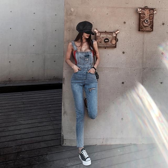 1区100%正宗韩国官网代购(韩国直发包国际运费)iampretty-连体裤(2020-06-20上架)