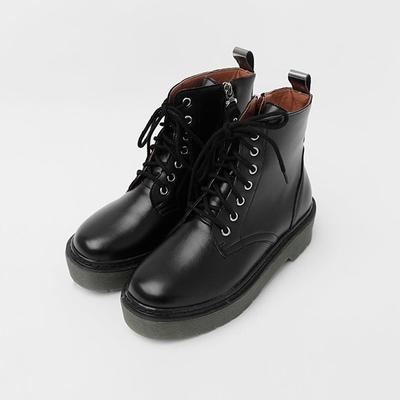 1区韩国本土服装代购(韩国圆通直发)icecream12-休闲百搭纯色短筒靴(2018-04-14上架)