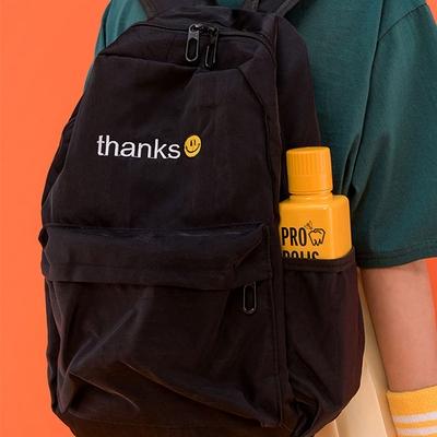 1区韩国本土服装代购(韩国圆通直发)icecream12-时尚百搭字母双肩背包(2018-04-14上架)
