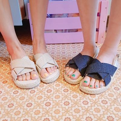 1区韩国本土服装代购(韩国圆通直发)icecream12-时尚百搭韩版凉鞋(2018-04-24上架)