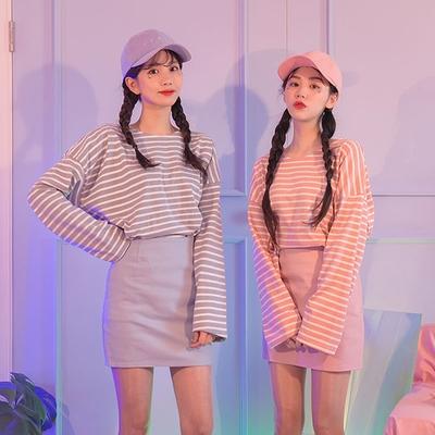 icecream12-休闲百搭纯色短裙
