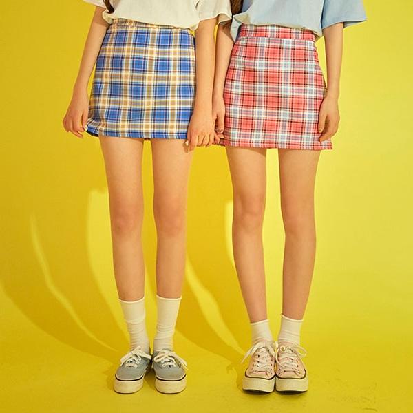 1區100%正宗韓國官網代購(韓國直發包國際運費)icecream12-短裙(2019-06-10上架)