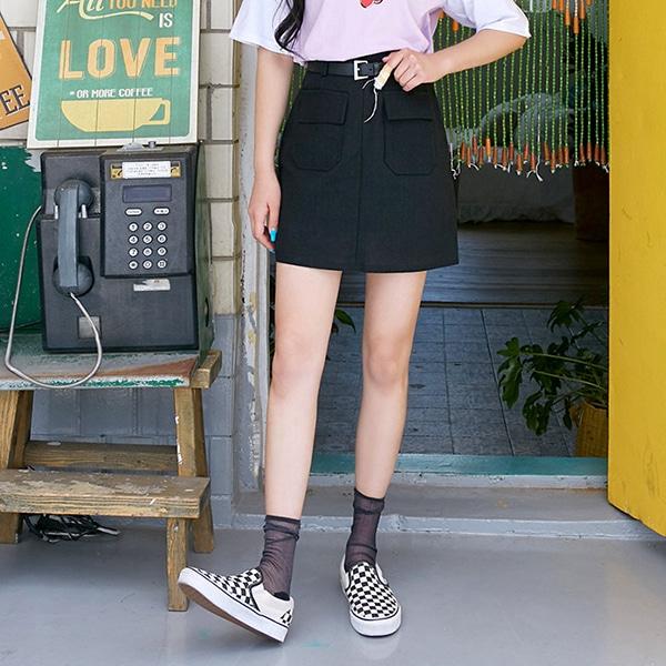 1区100%正宗韩国官网代购(韩国直发包国际运费)icecream12-短裙(2019-06-26上架)
