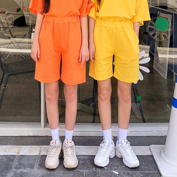 1區100%正宗韓國官網代購(韓國直發包國際運費)icecream12-短褲(2019-07-03上架)