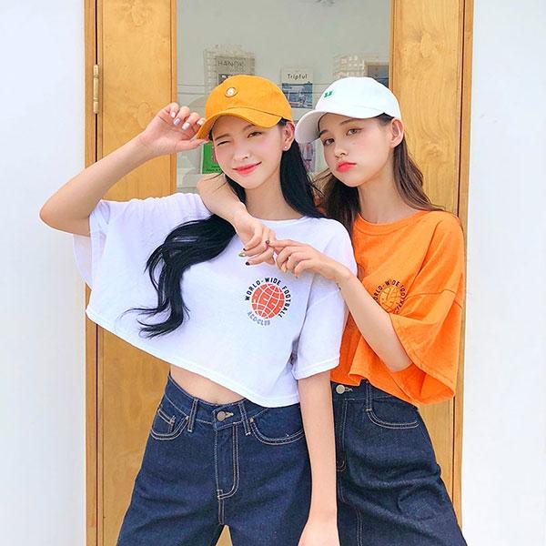 1区100%正宗韩国官网代购(韩国直发包国际运费)icecream12-T恤(2019-07-30上架)