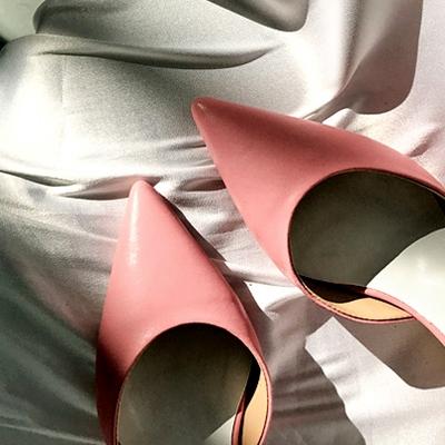1区韩国本土服装代购(韩国圆通直发)Imvely-时尚流行魅力高跟鞋(2018-04-24上架)
