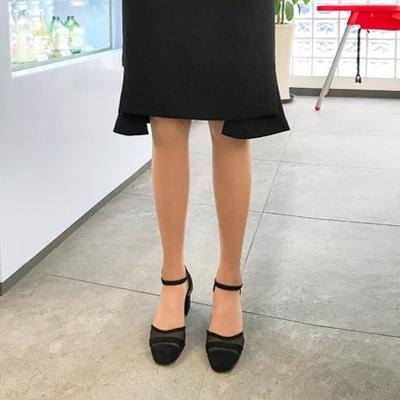 1区韩国本土服装代购(韩国圆通直发)Imvely-时尚风格高档高跟鞋(2018-04-24上架)