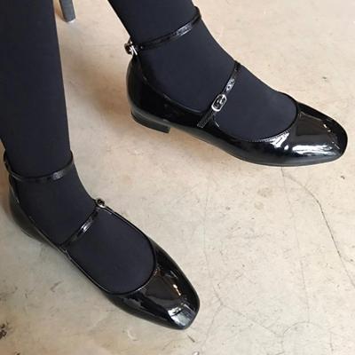 1区韩国本土服装代购(韩国圆通直发)Imvely-魅力韩版时尚平底鞋(2018-04-20上架)